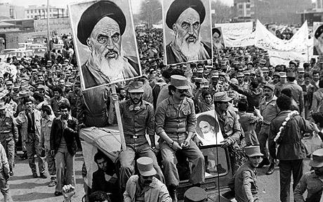 Iranian Revolution - 1979 (Source: Bikya Masr)