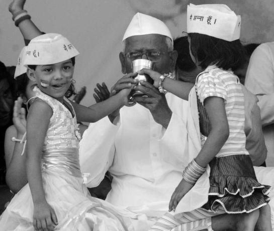 Essay on anna hazare biography of mahatma