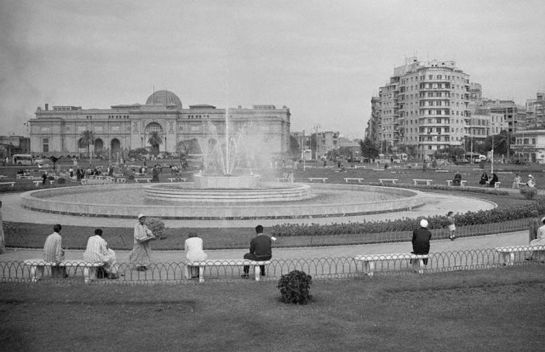 Tahrir Square, 1941 via Wikimedia Commons