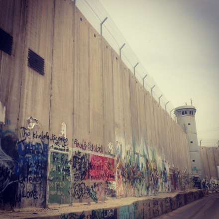 Figure 1 The Wall in Bethlehem Governorate
